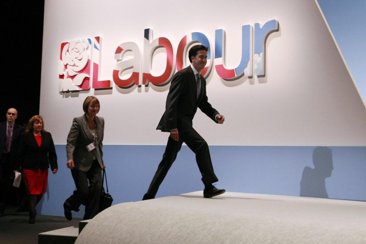 Ed Miliband v čele Labouristické strany