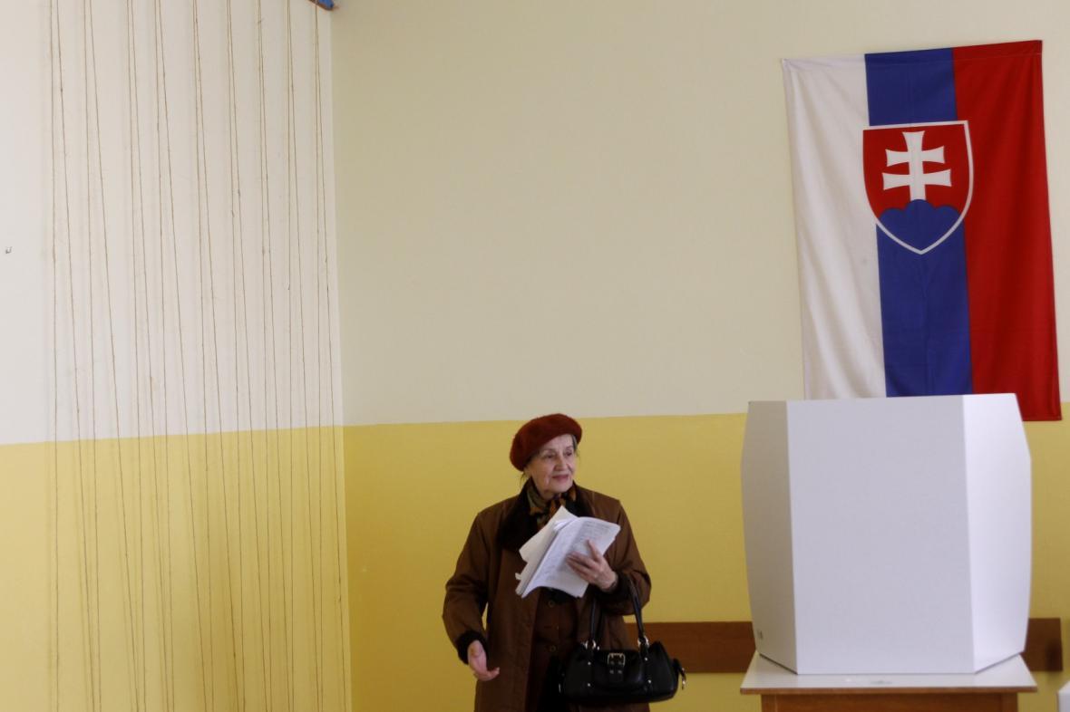 Hlasování na Slovensku - eurovolby