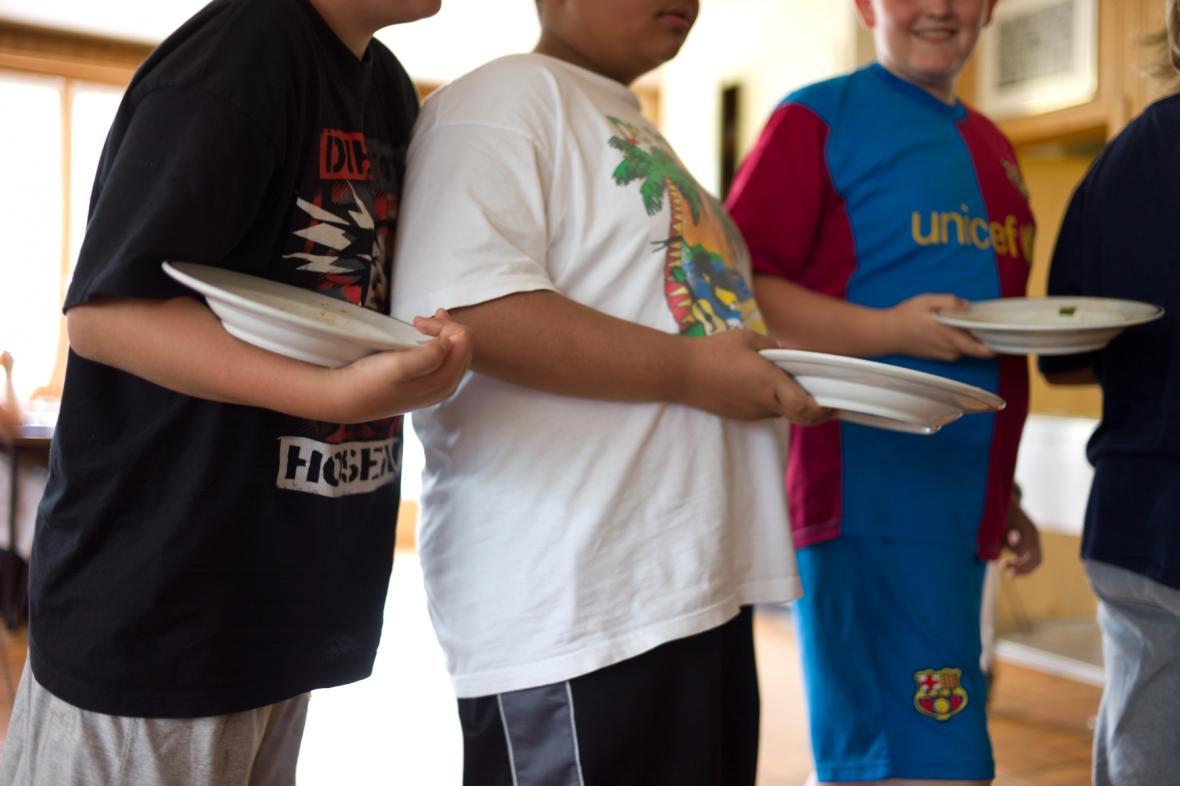 Obézní děti