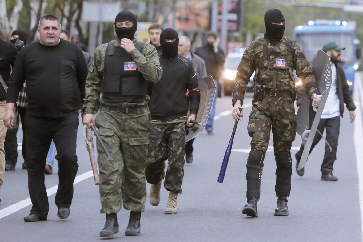 Proruské milice v Doněcku