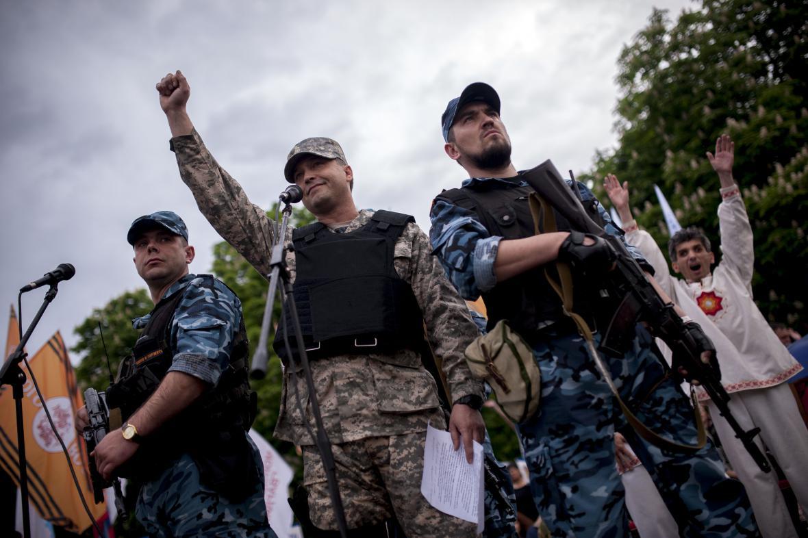 Proruští ozbrojenci