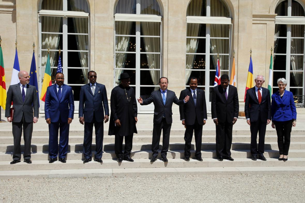Pařížská bezpečnostní schůzka o Boko Haram