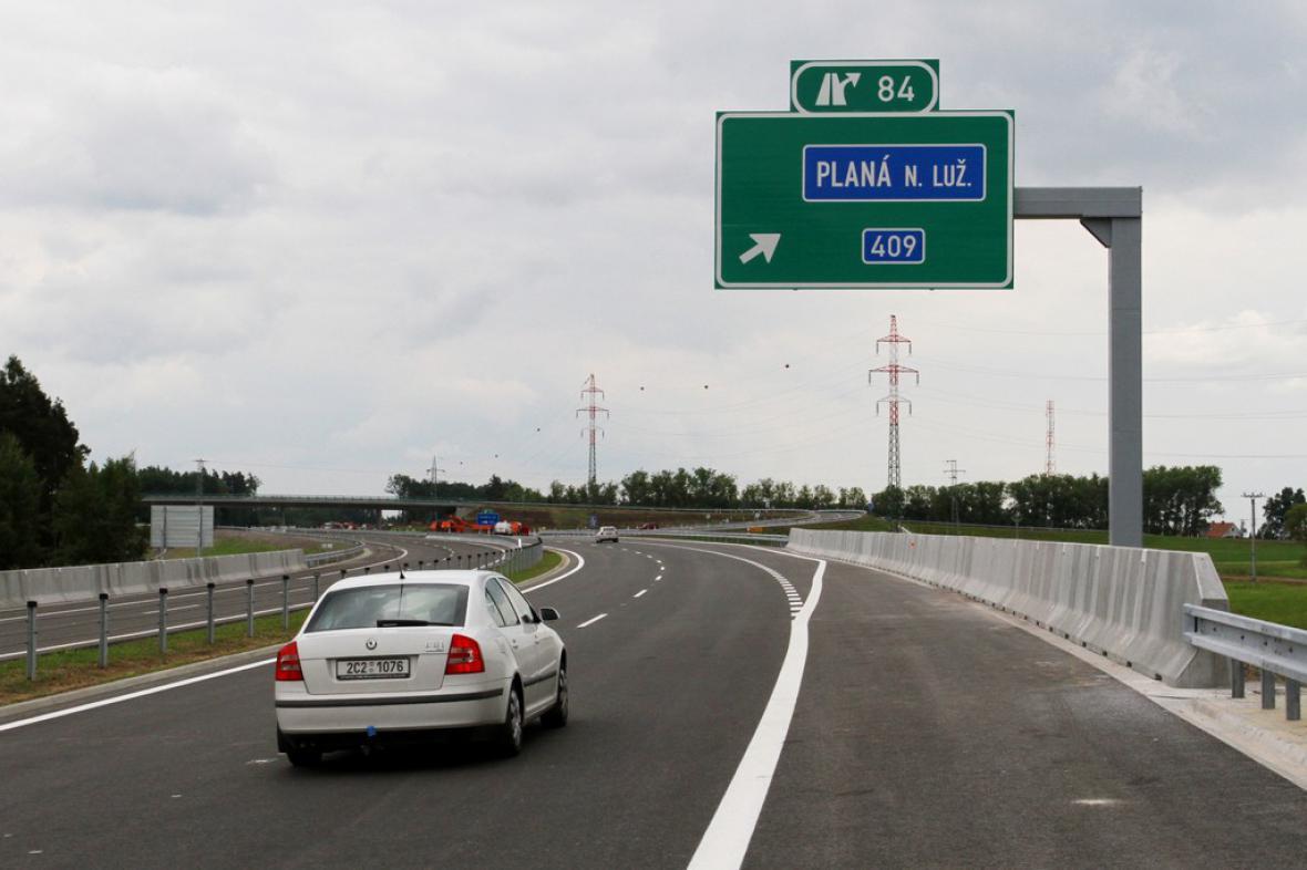 Nový úsek dálnice D3 je v provozu