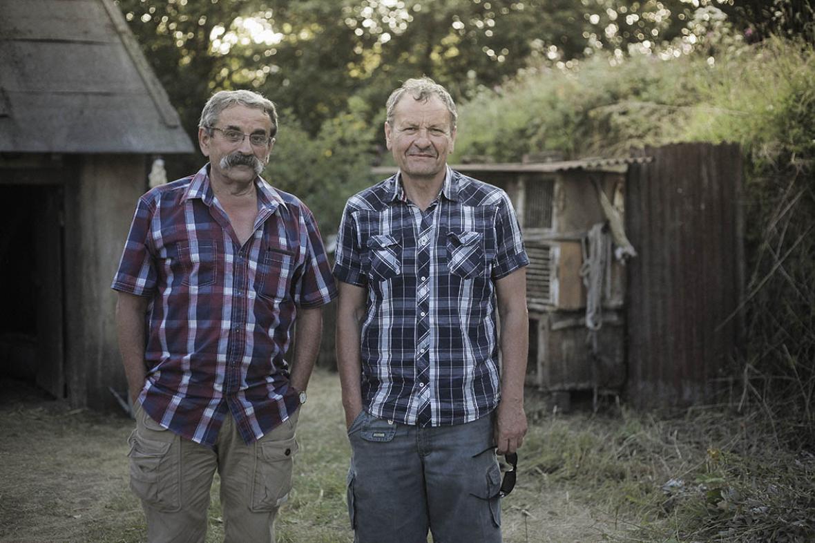 Miroslav Krobot a Lubomír Smékal