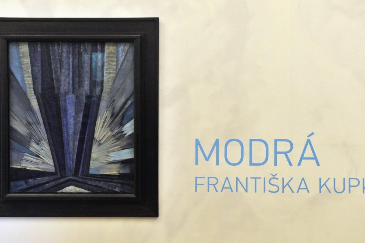 Obraz Františka Kupky - Tvar modré z roku 1913