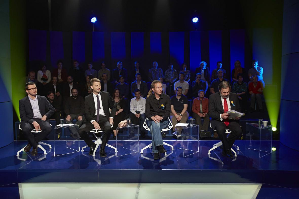 Debata kandidátů do EP