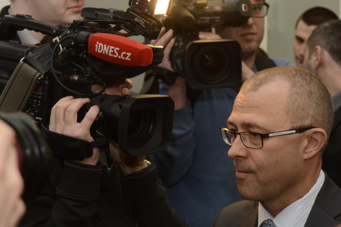 Martin Barták u soudu