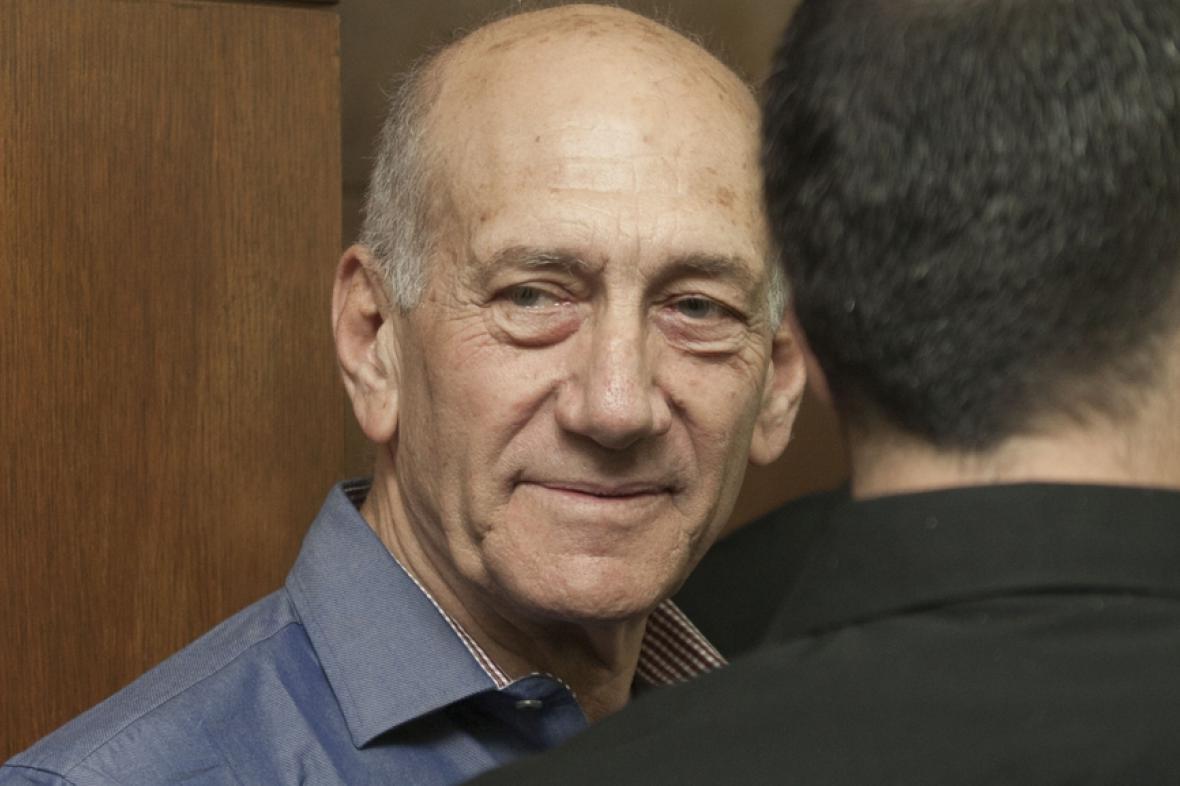 Izraelský expremiér Ehud Olmert