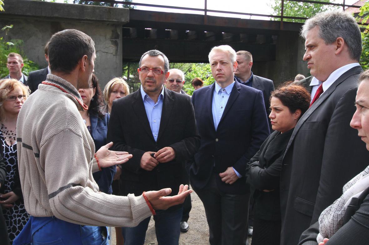 Ministři navštívili Šluknovsko