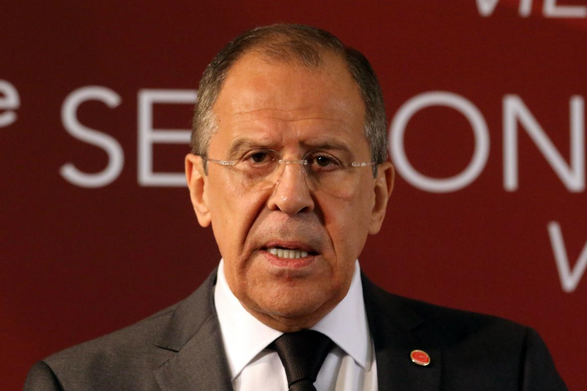 Sergej Lavrov žádá důkladné vyšetření tragédie v Oděse