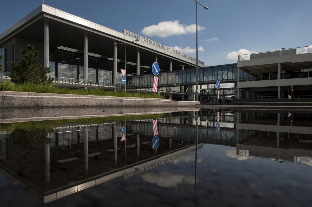 Mezinárodní letiště v Doněcku