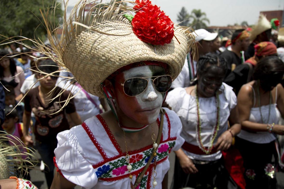 Mexické oslavy Cinco de Mayo