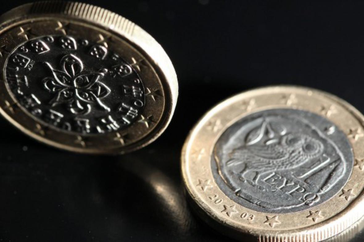 Portugalské a řecké euro