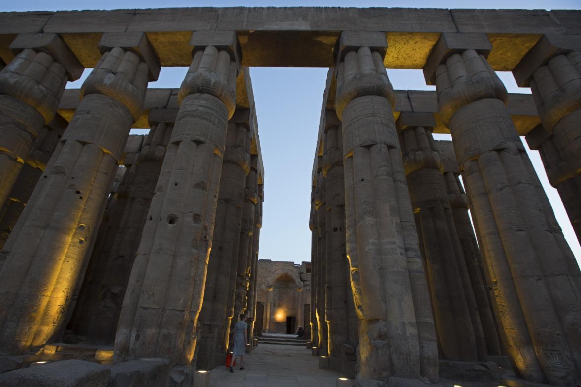 Chrám v Luxoru