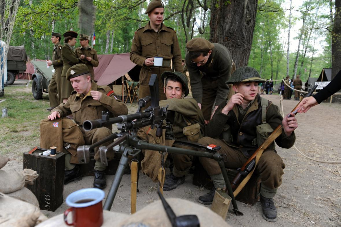 Plzeň si připomíná osvobození z roku 1945