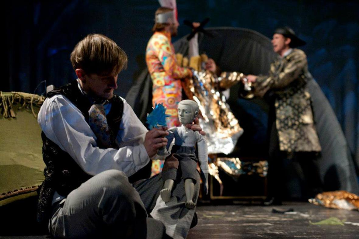 Hobit - inscenace divadla Lampion