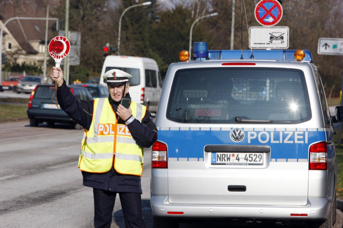 Dopravní policie v Německu