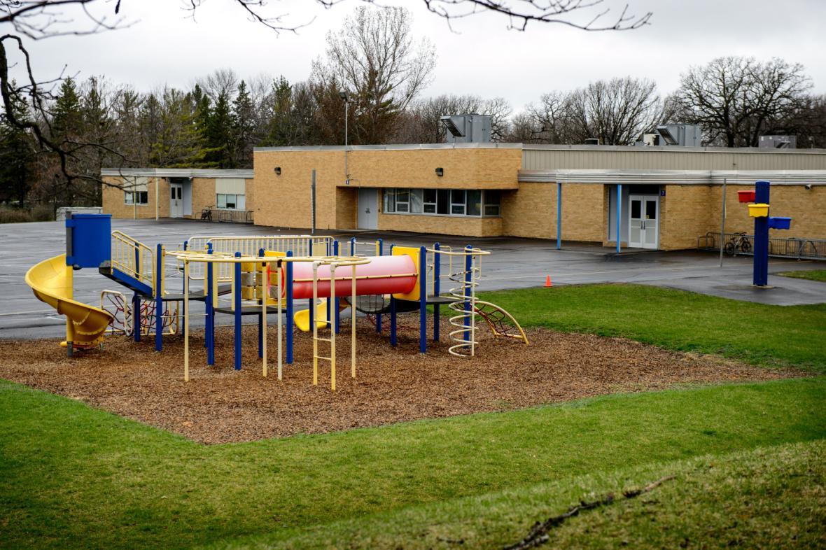 Škola ve městě Waseca