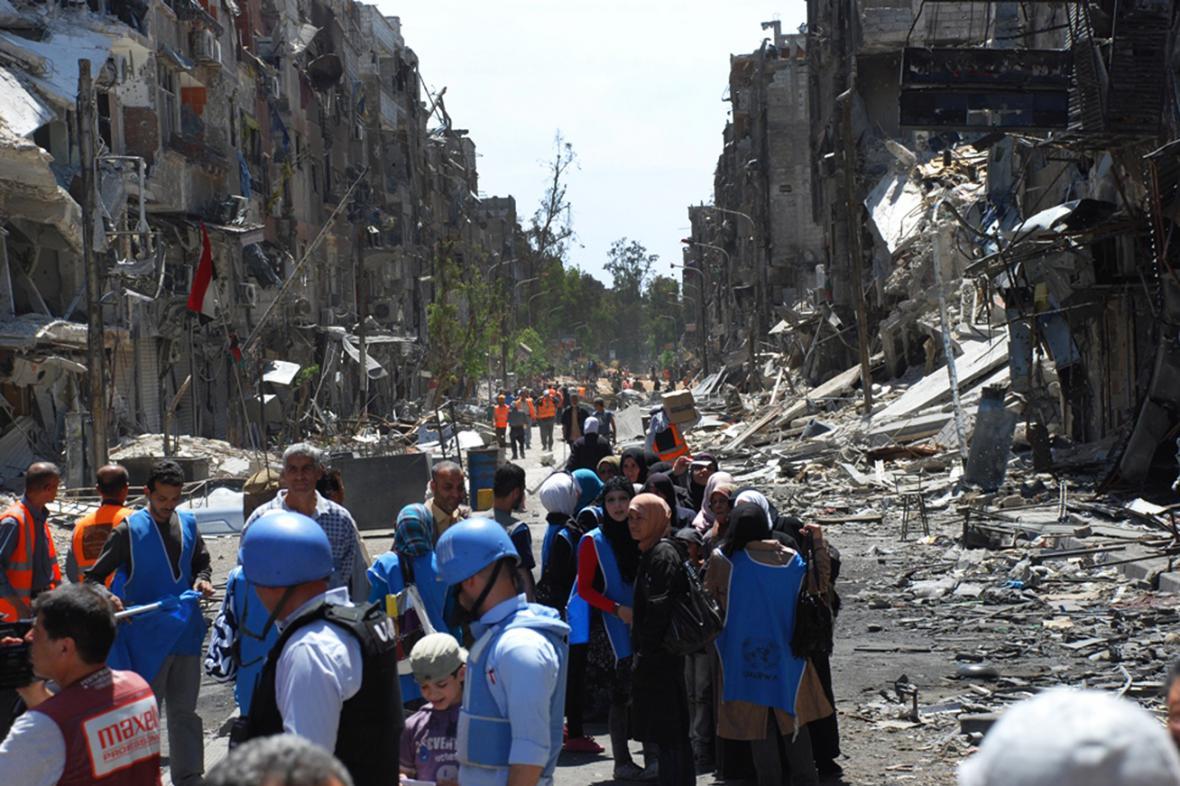 Inspektoři OSN v Sýrii