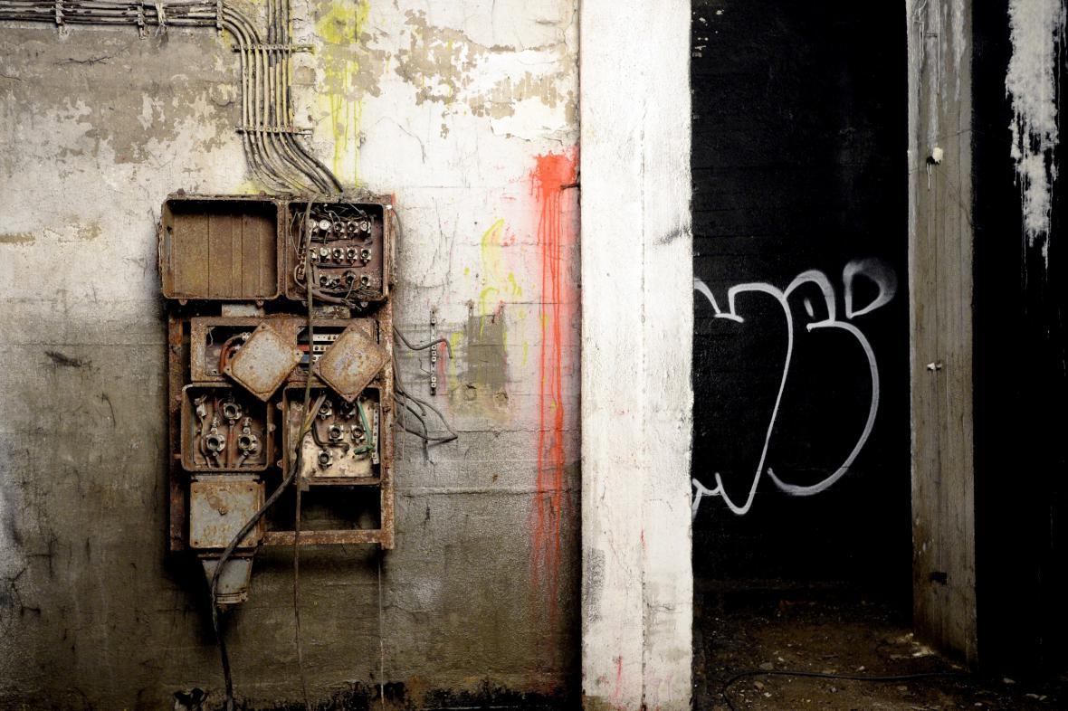 Podzemí bývalého Stalinova pomníku v Praze na Letné