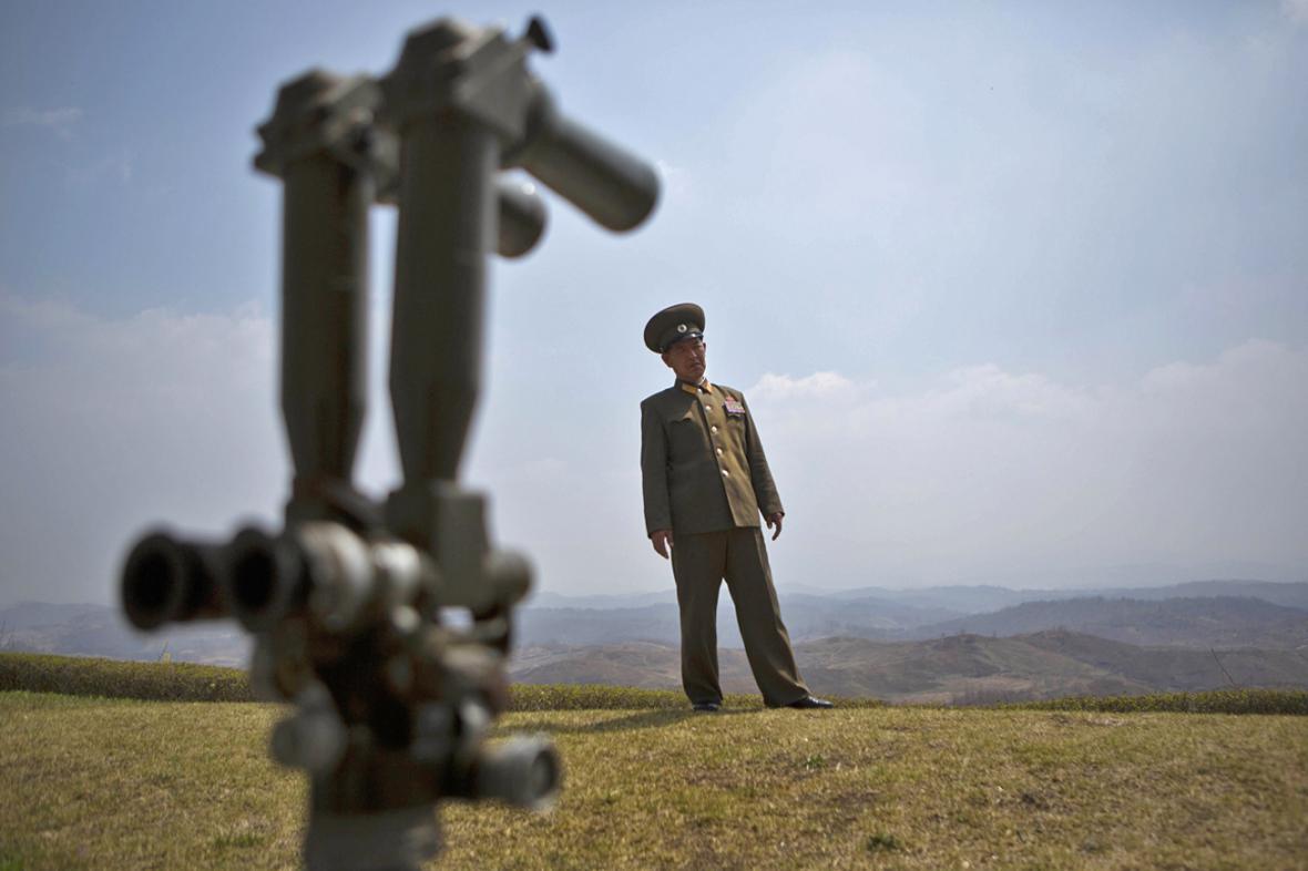Severokorejský armádní důstojník
