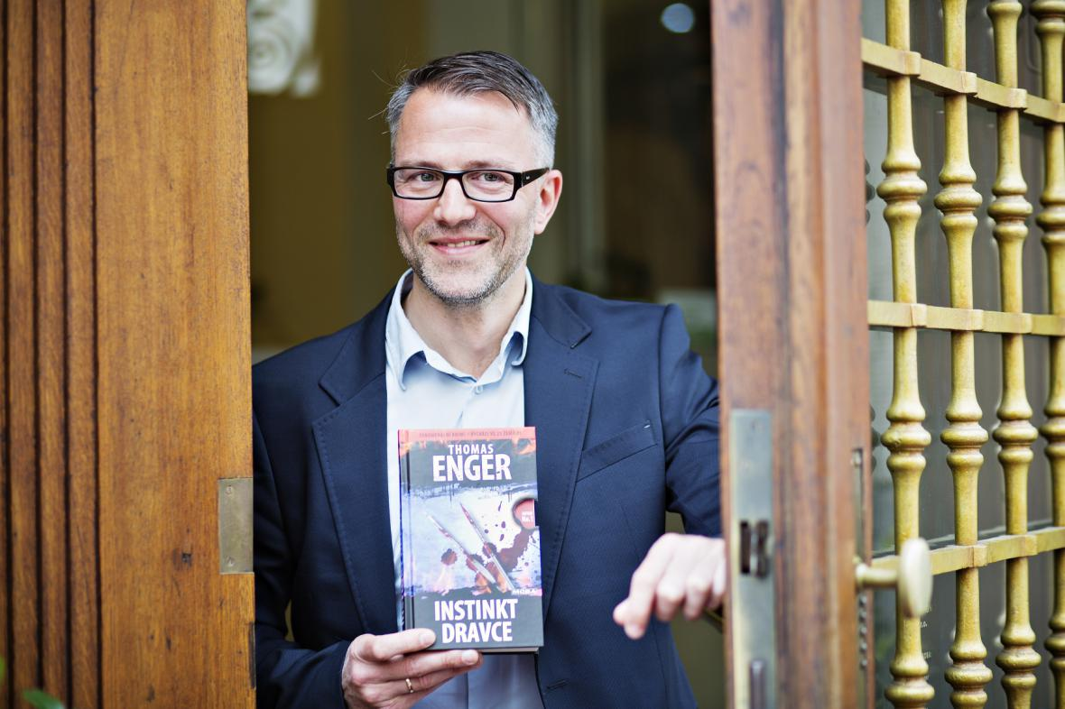 Norský spisovatel Thomas Enger