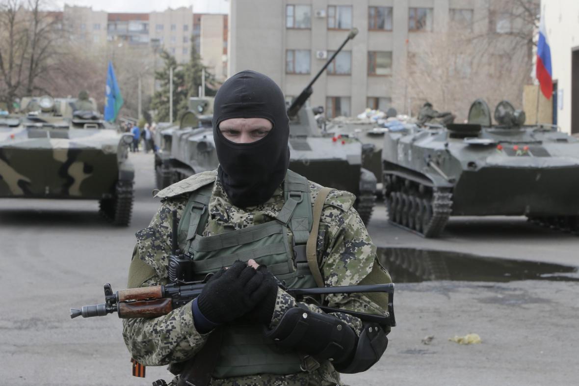 Proruský aktivista