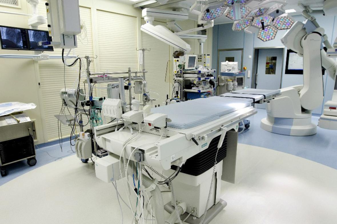 Hybridní operační sálu v IKEMu
