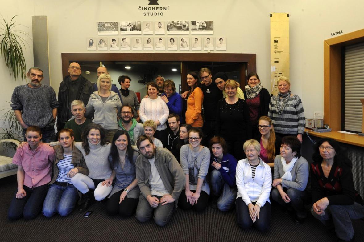 Soubor Činoherního studia v Ústí nad Labem