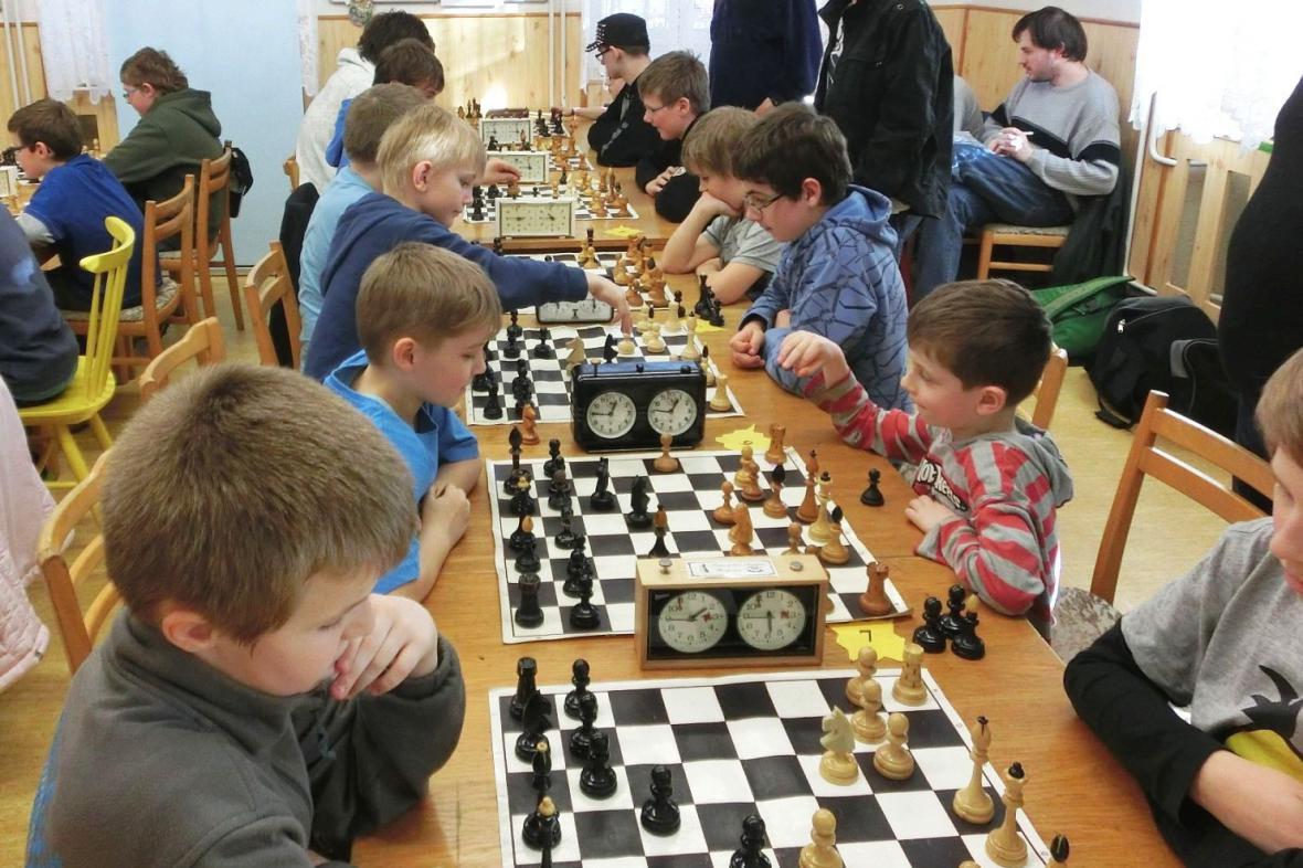 Dětský šachový turnaj