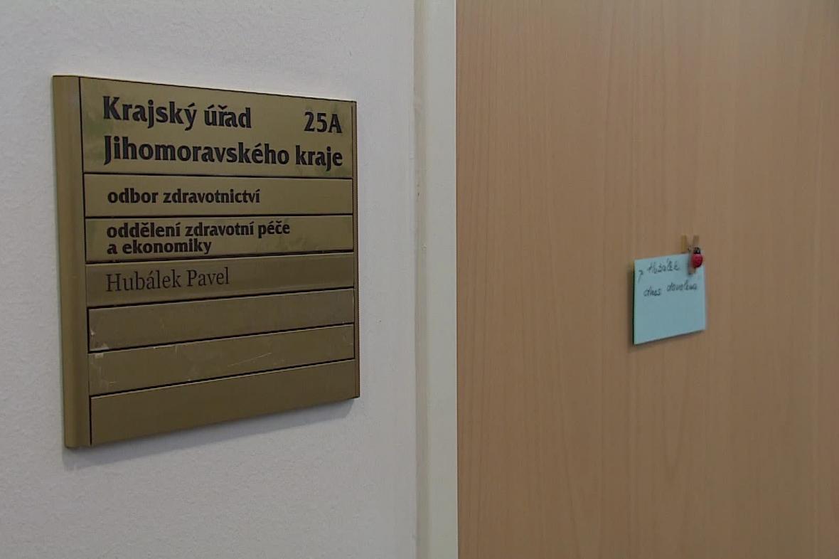 Pavel Hubálek pracuje na odboru zdravotnictví Jihomoravského kraje