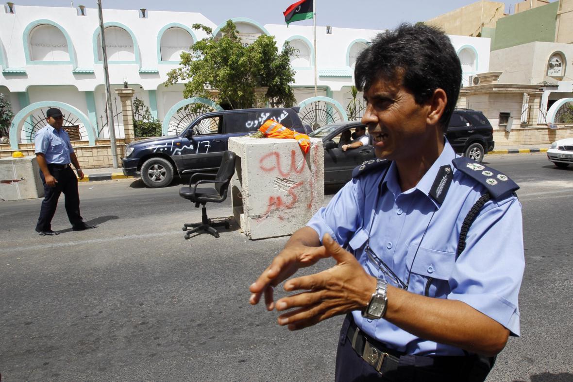 Libyjská policie