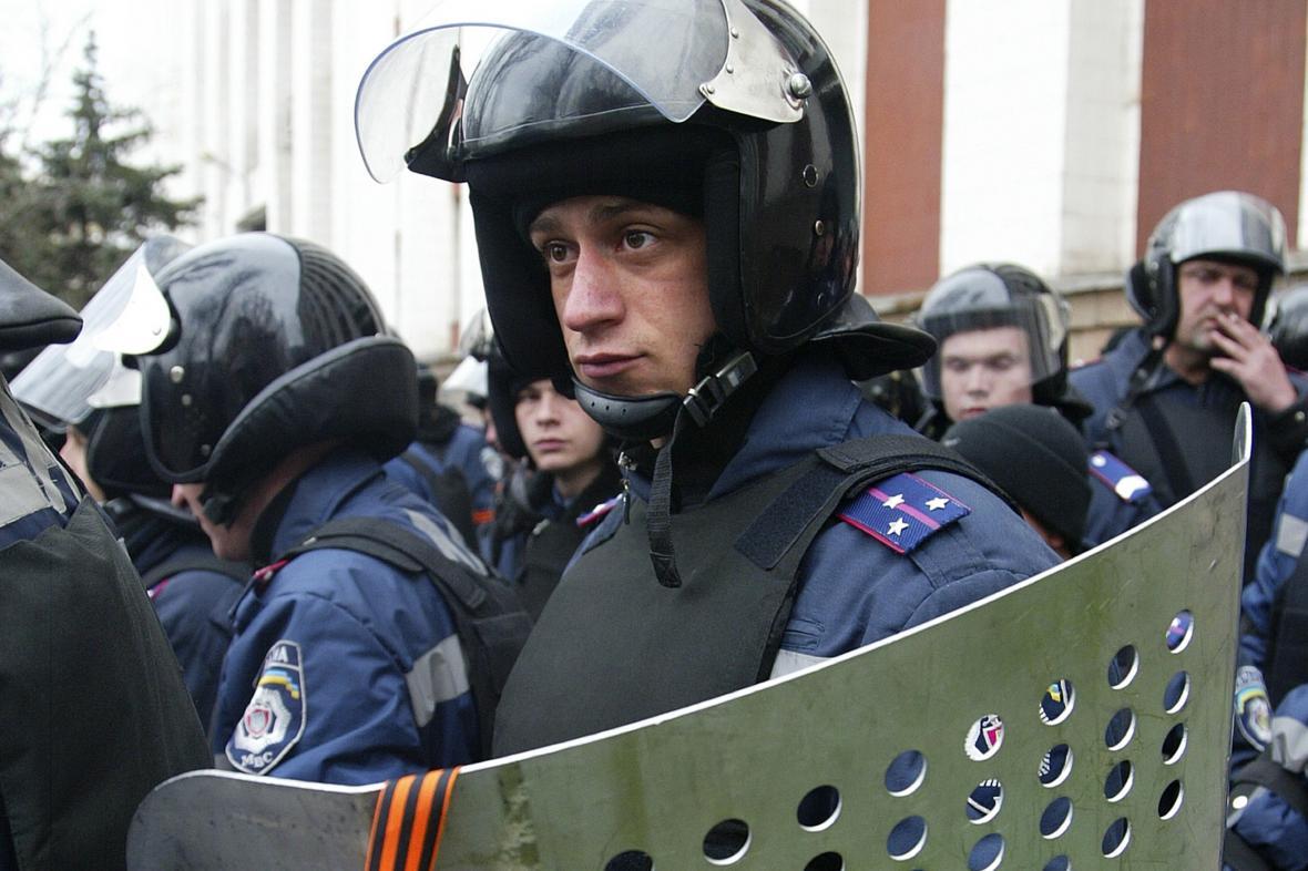 Zásah na východě Ukrajiny