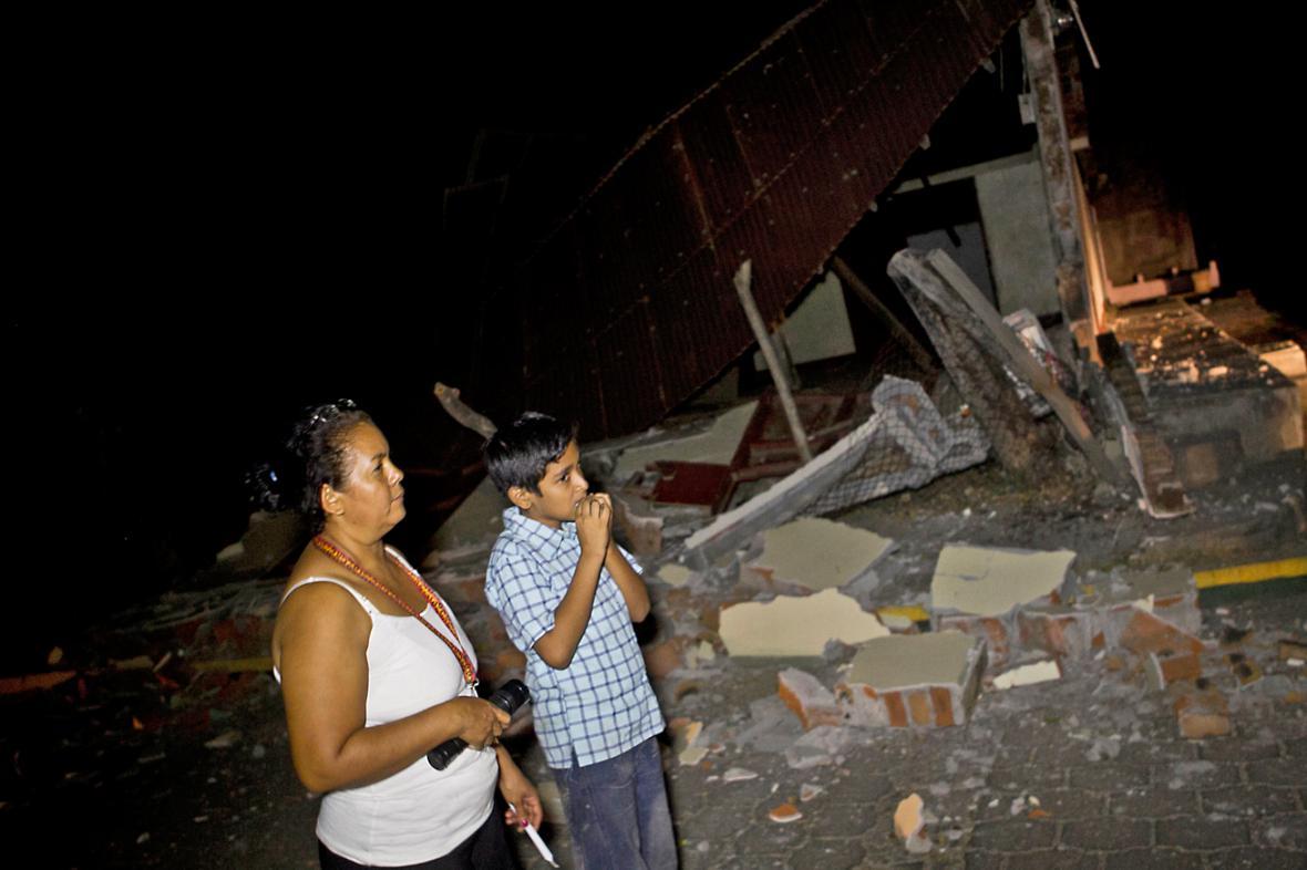 Zemětřesení v Nikaragui