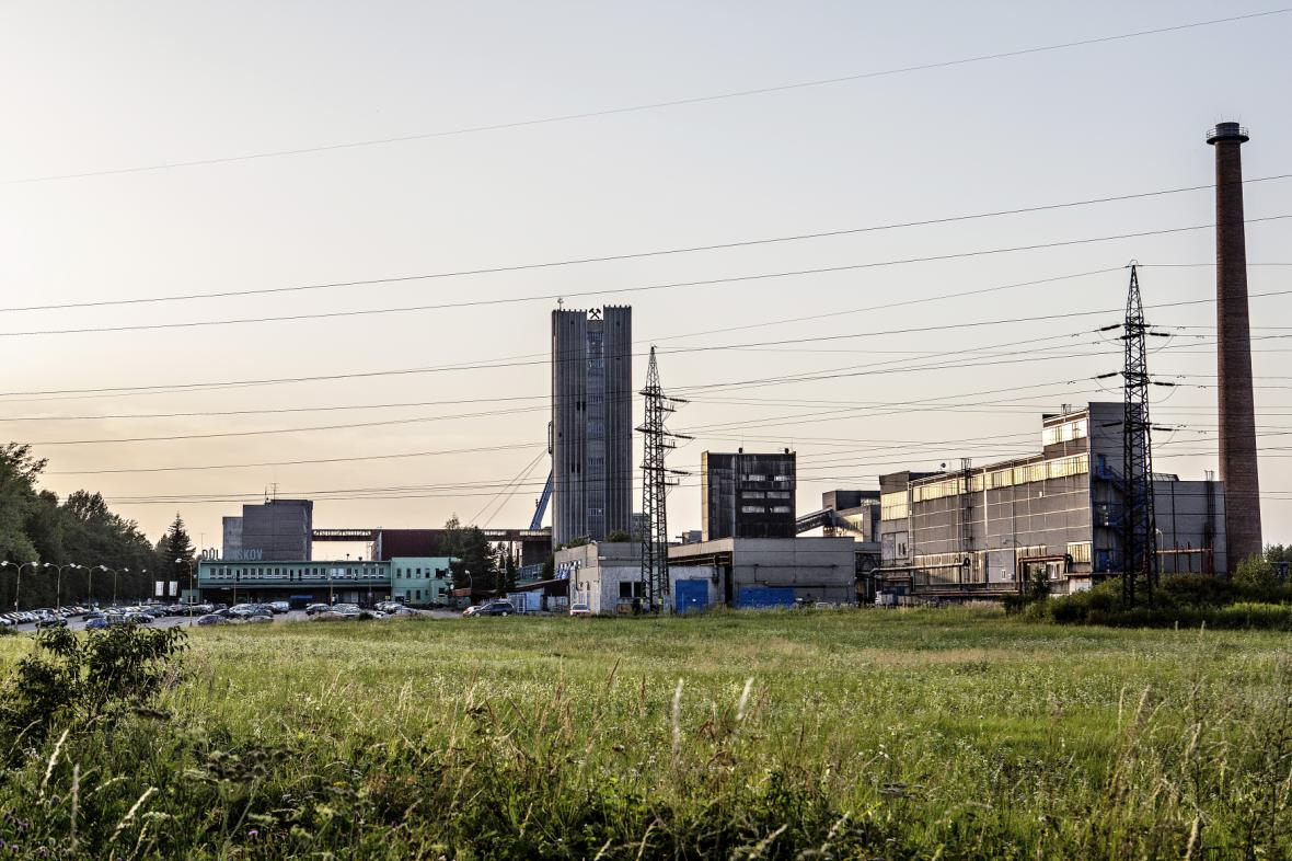 Černouhelný důl Paskov