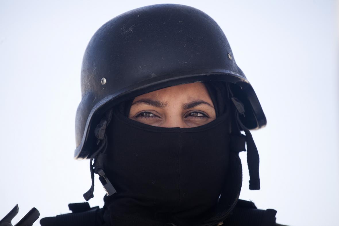 Palestinky se mohou stát členkami ochranky
