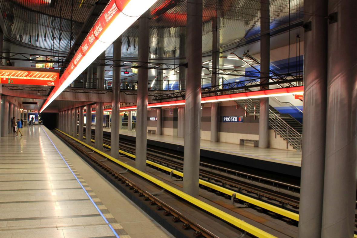 Stanice metra Prosek