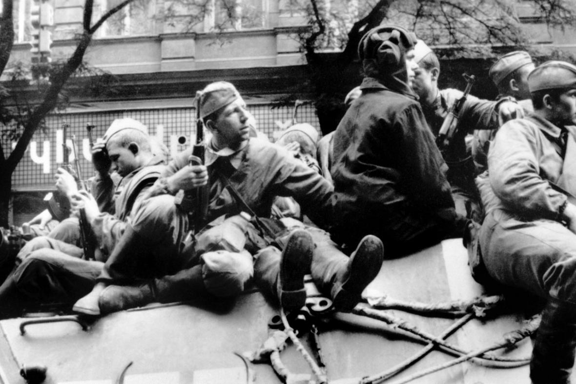 Srpen 1968 v ulicích Prahy