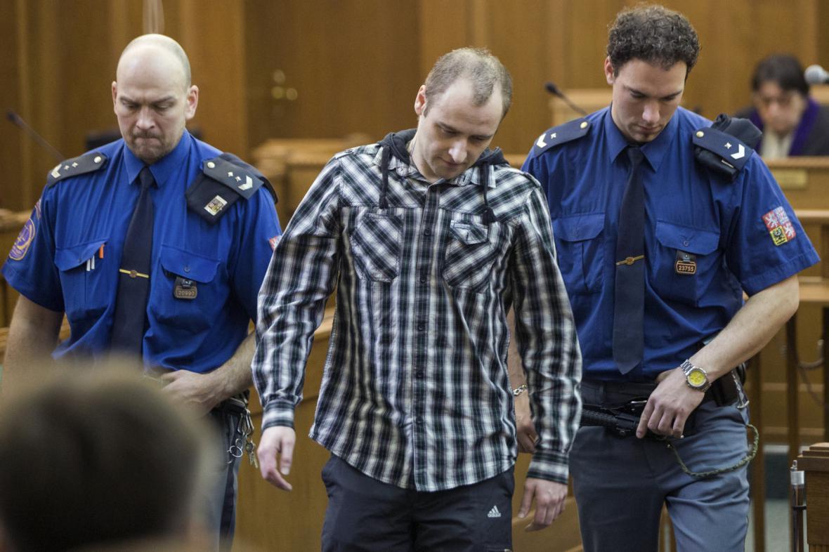 Obžalovaný Tomáš Macek