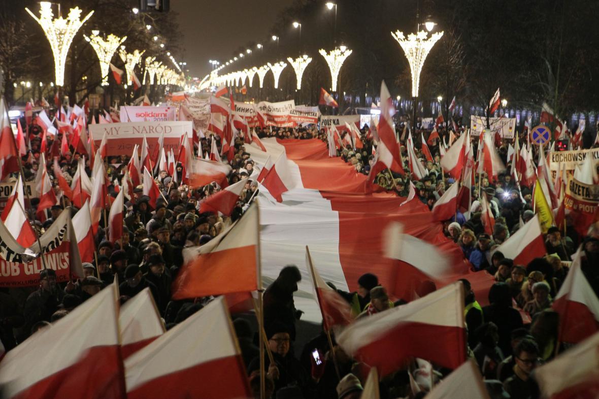 Protesty Poláků