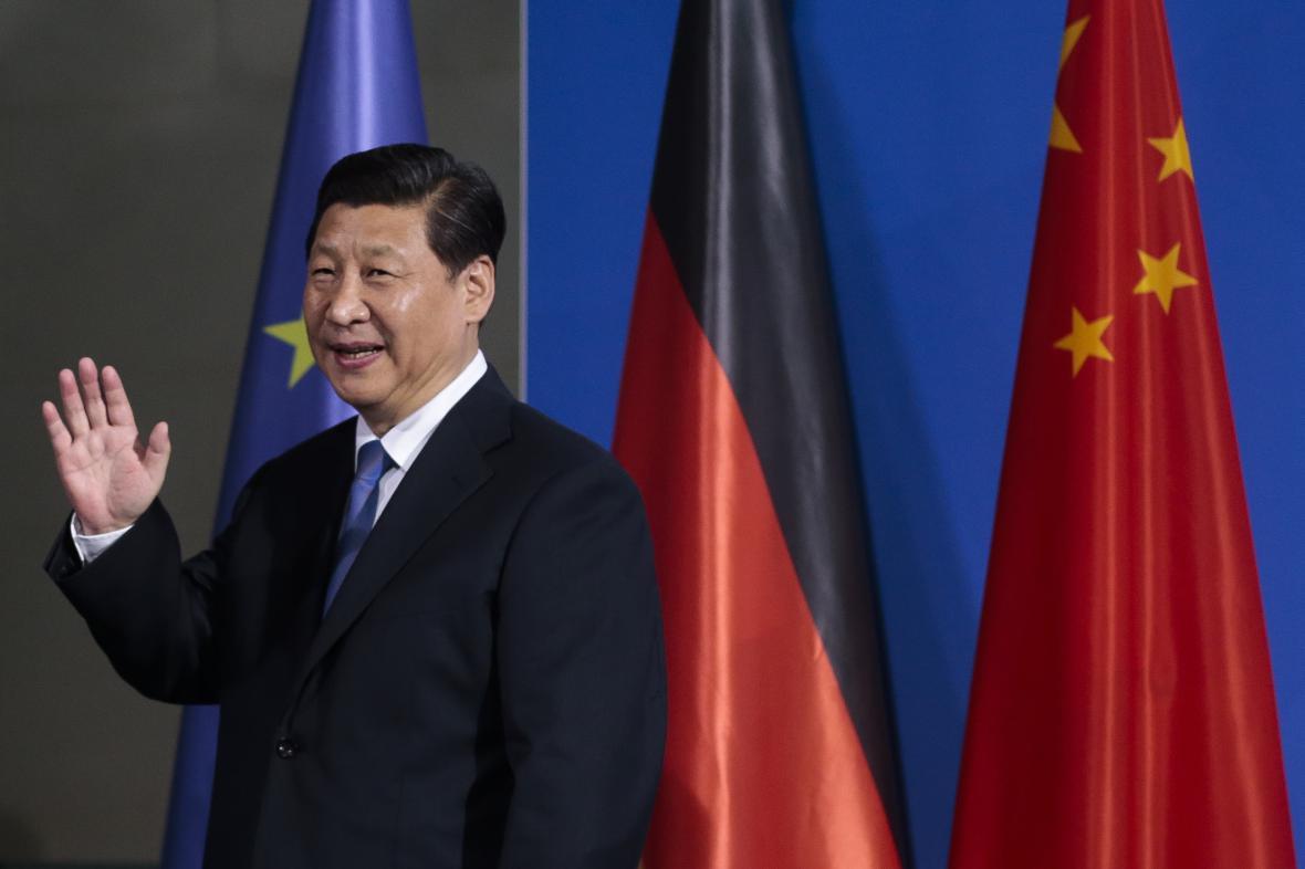 Si Ťin-pching na evropské cestě
