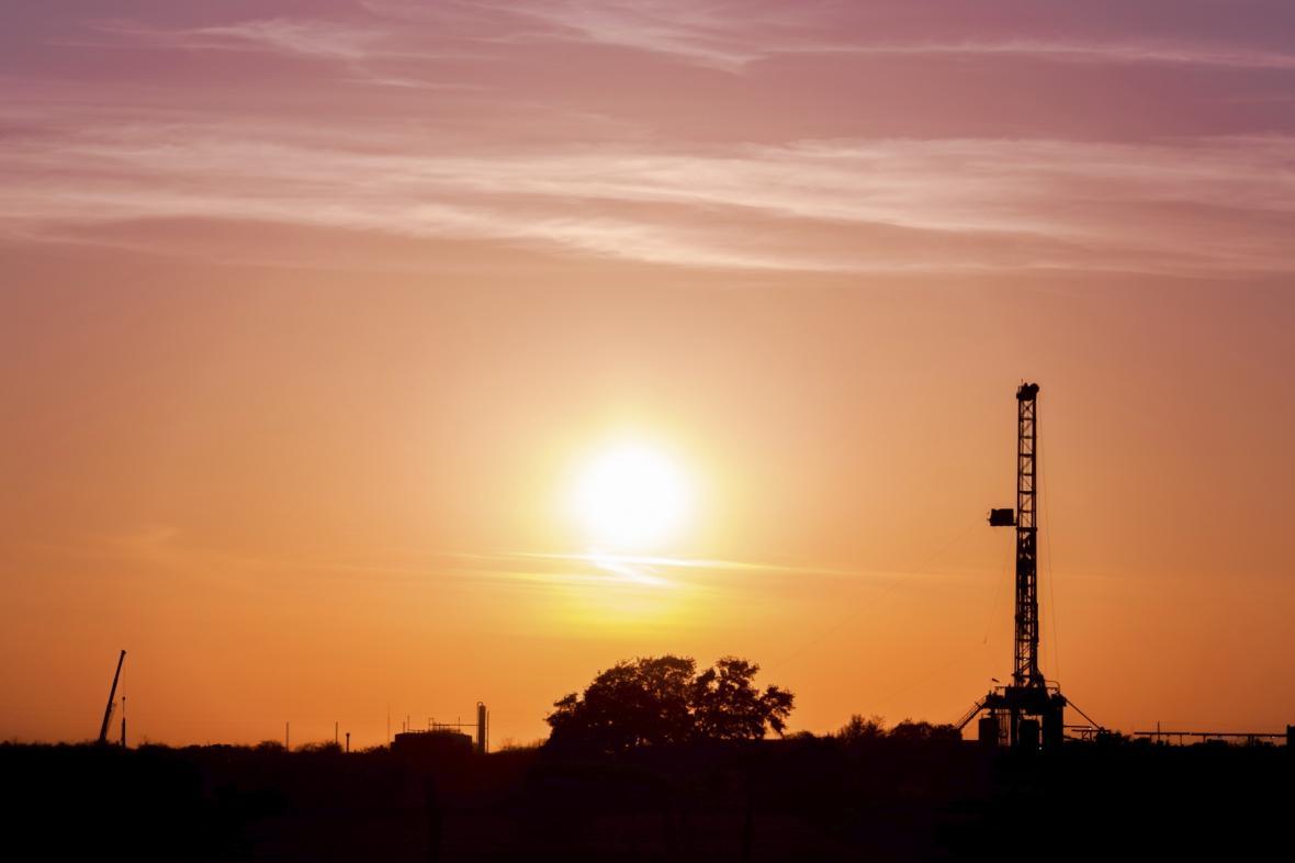Těžba plynu v USA