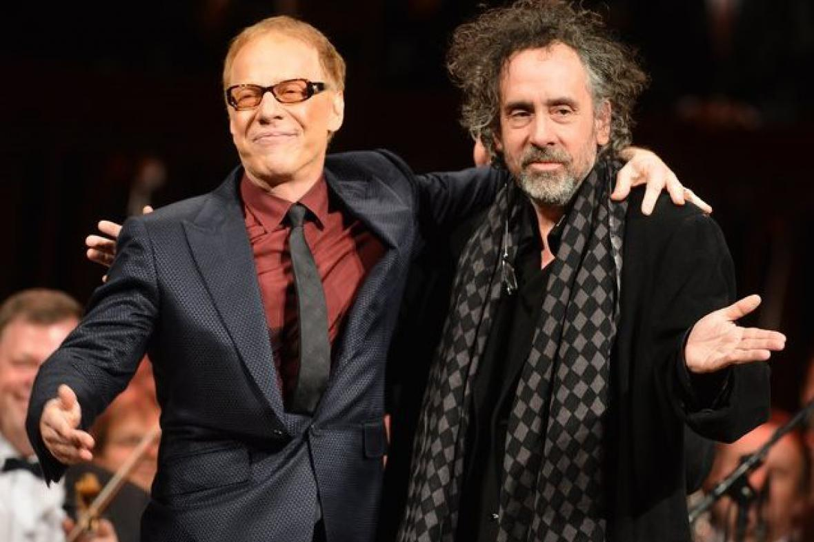 Danny Elfman a Tim Burton
