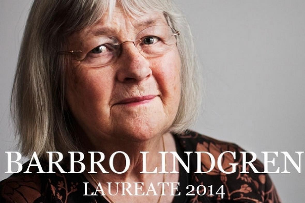 Barbro Lindgrenová, laureátka Ceny Astrid Lindgrenové 2014