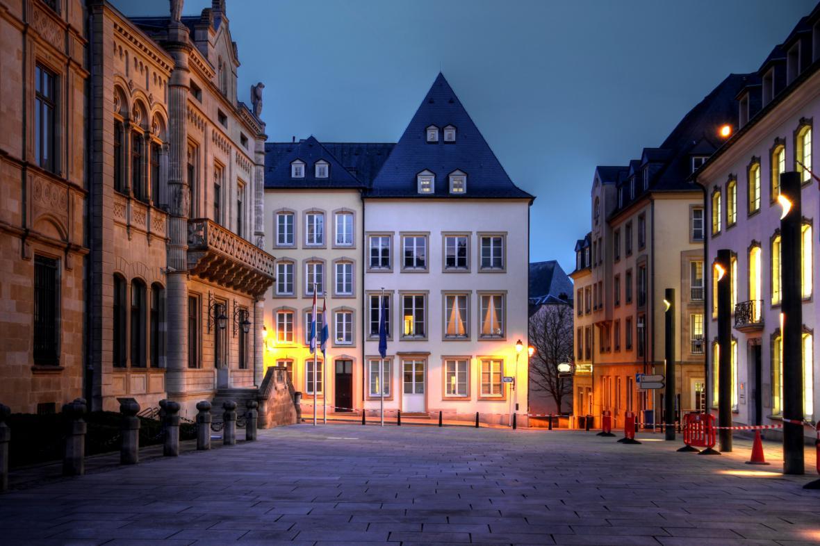 Ulice v Lucemburku