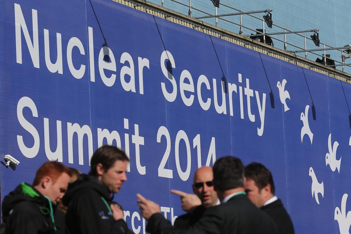 Summit o jaderné bezpečnosti v Haagu