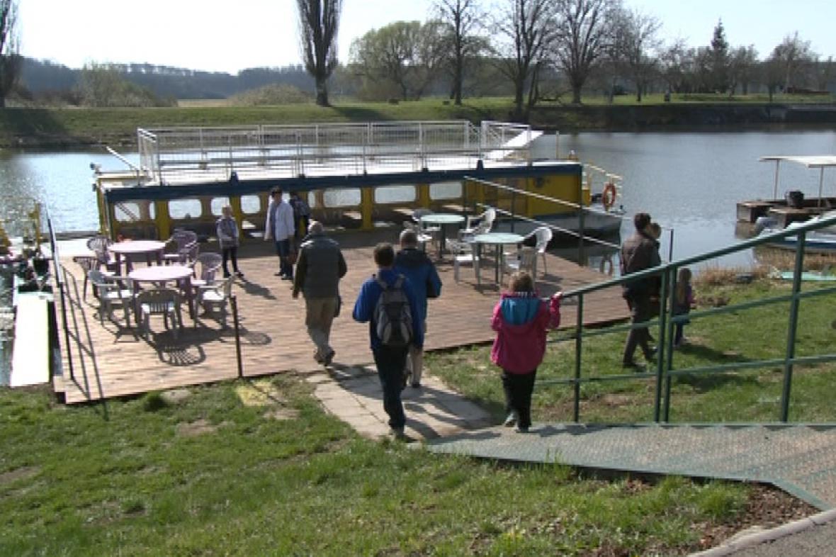 V Hodoníně zahájili plavební sezónu s několikatýdenním předstihem