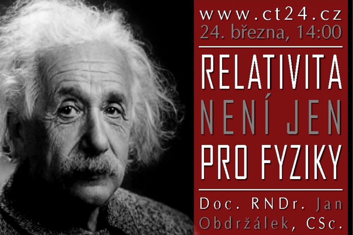 Přednáška: Relativita není jen pro fyziky