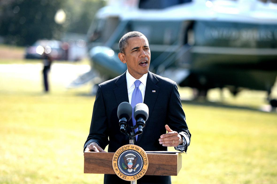 Barack Obama oznámil zavedení dalších sankcí