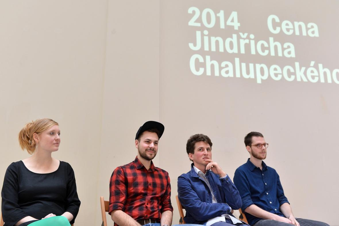 Čtyři z finalistů 25. ročníku Ceny Jindřicha Chalupeckého